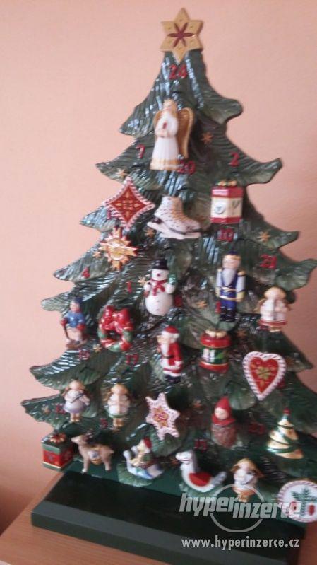 Keramický adventní stromek