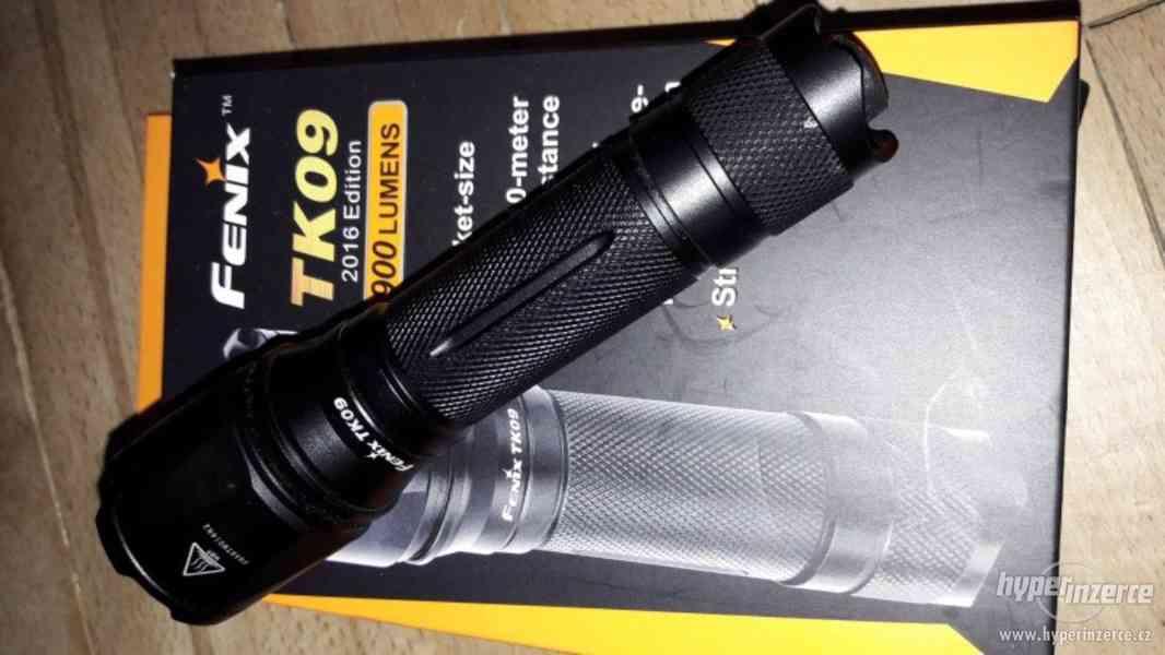 Prodám loveckou svítilnu Fenix TK09 900 lumenů - foto 2