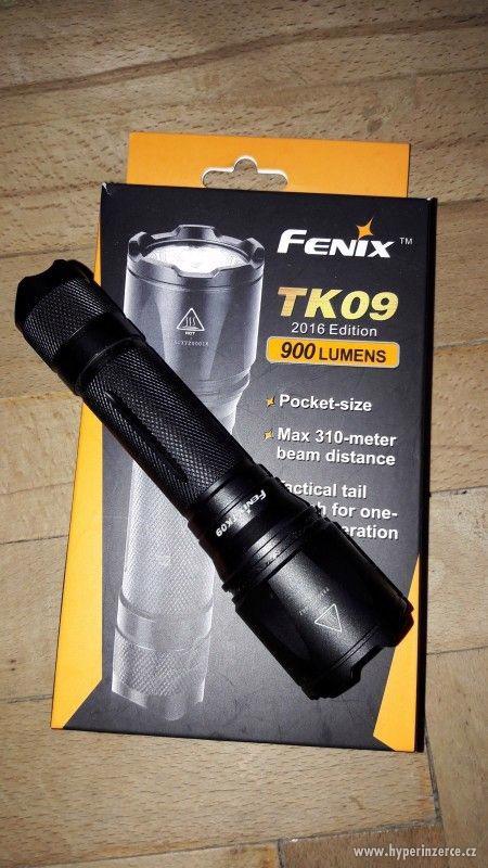 Prodám loveckou svítilnu Fenix TK09 900 lumenů - foto 1