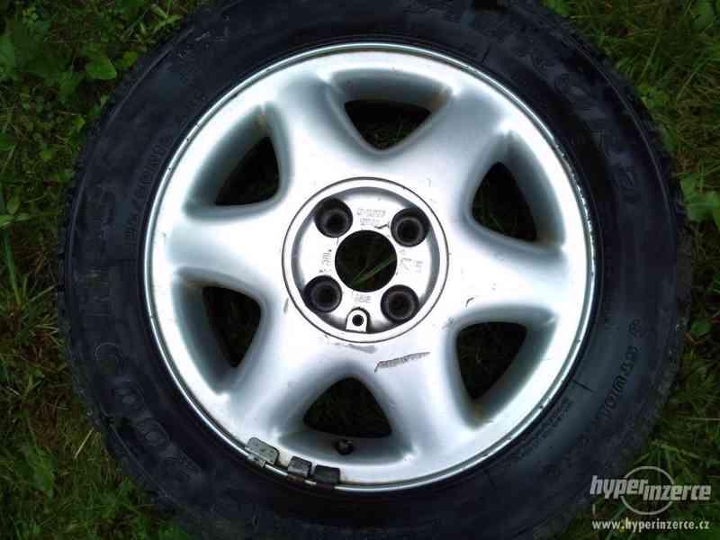 "Litá kola 15"" 4x100 - orig. Opel Astra - jen 3 kusy - foto 4"
