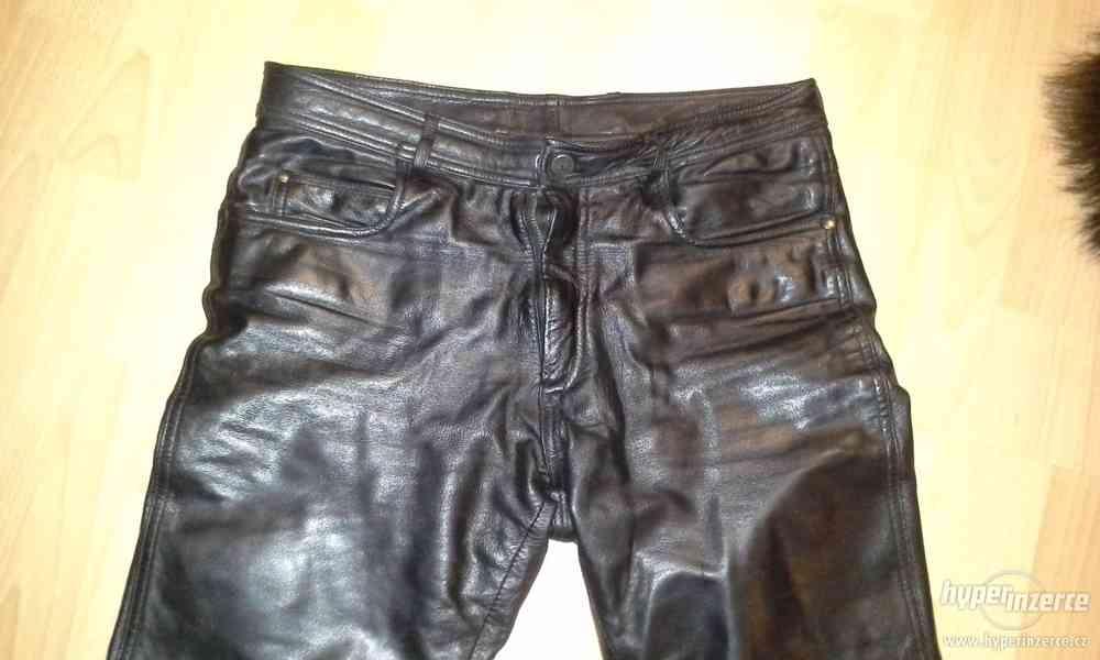 Kožené kalhoty - foto 3