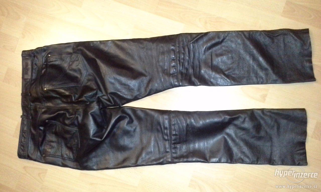 Kožené kalhoty - foto 1