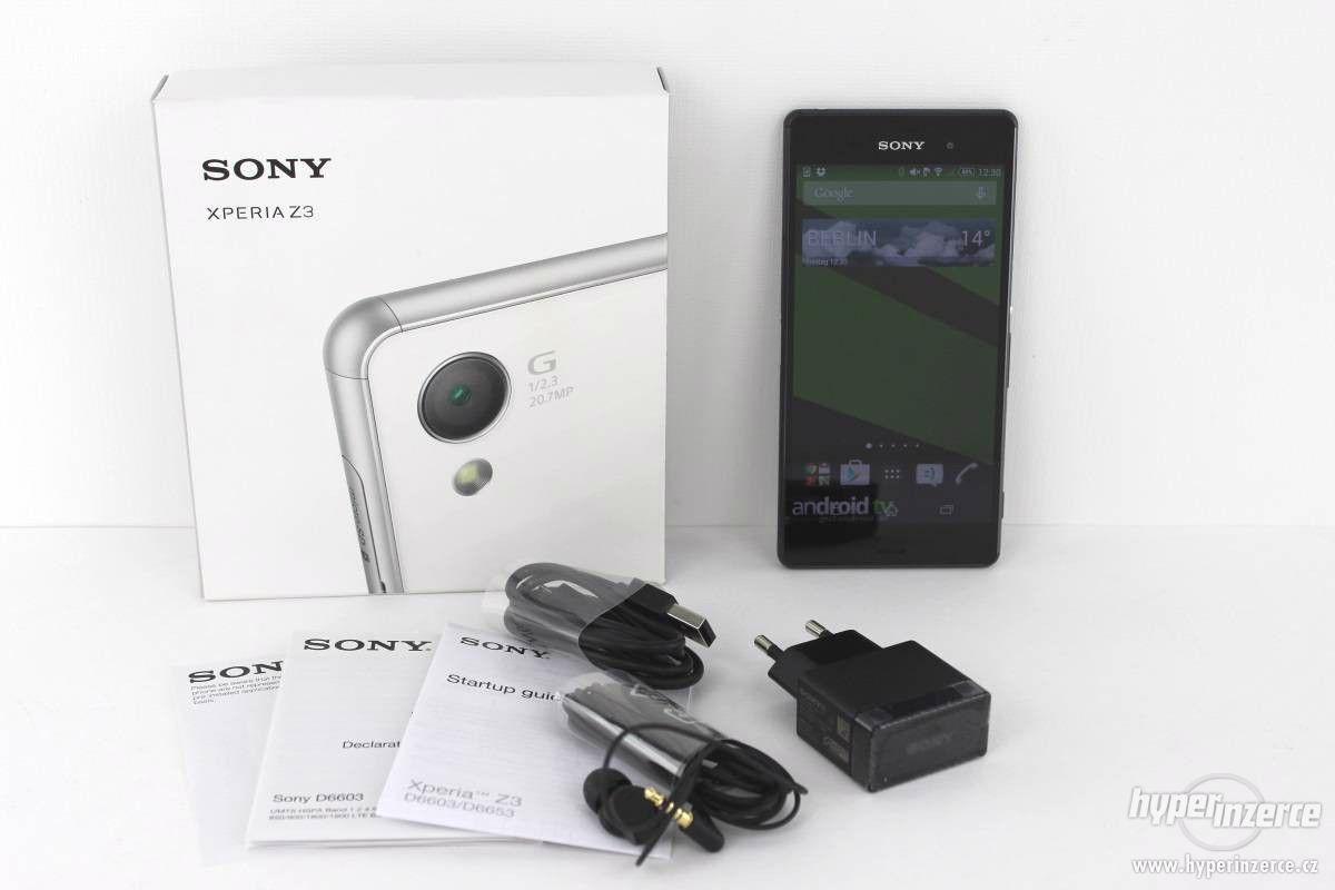 Sony Xperia Z3 Compact (white/bílý) D5803 - foto 1
