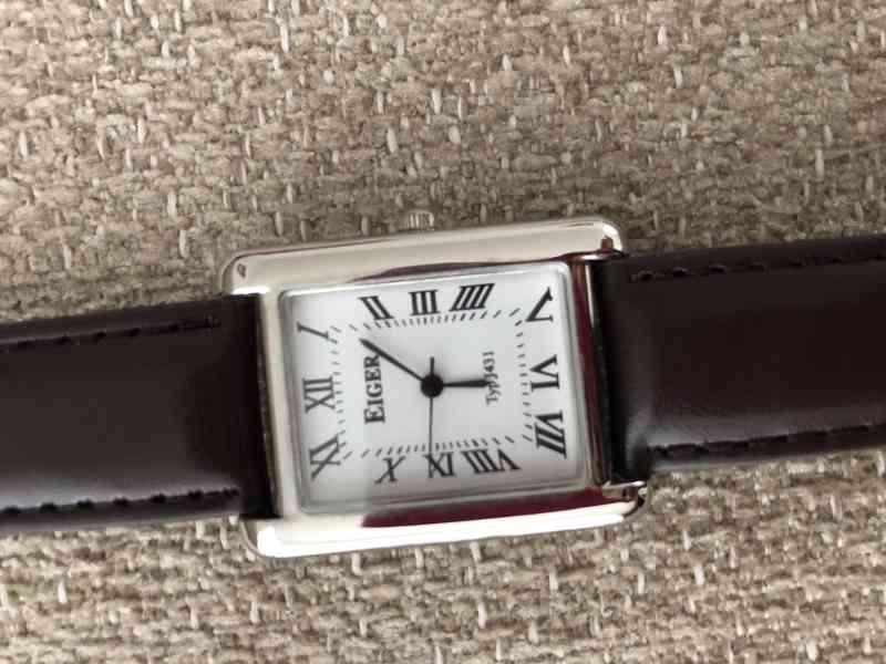 Prodám pánské hodinky, Eiger