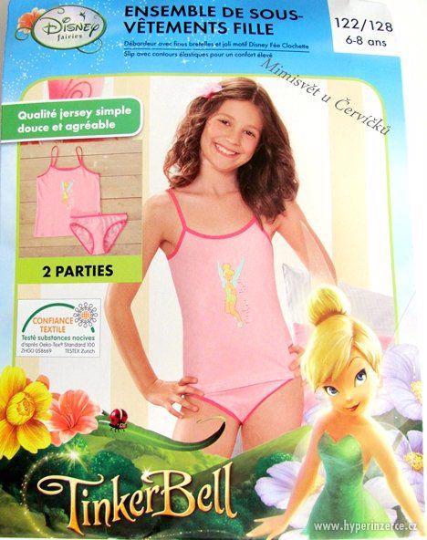 Dívčí spodní prádlo - souprava Fairies Zvonilka