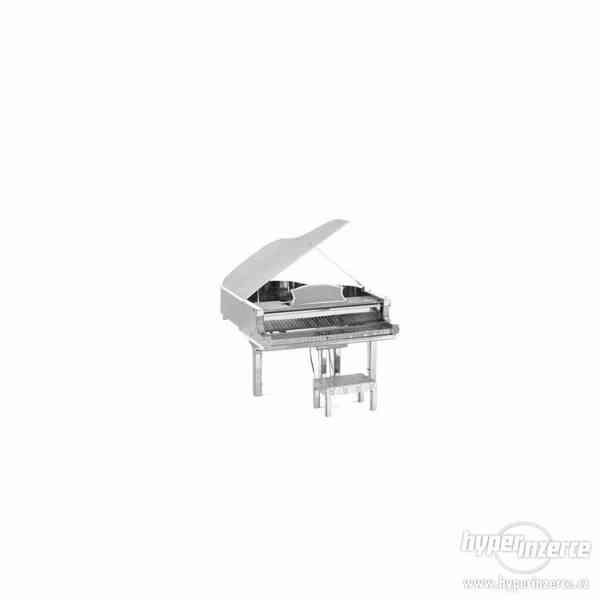 3D kovové puzzle - Hudební nástroje - foto 1