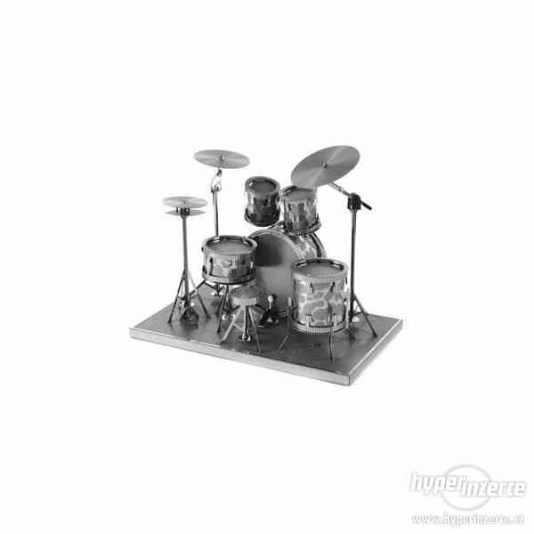 3D kovové puzzle - Hudební nástroje - foto 3
