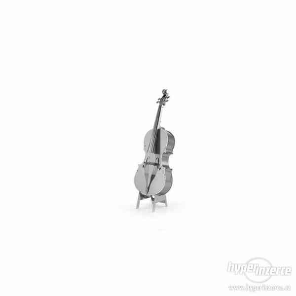 3D kovové puzzle - Hudební nástroje - foto 4