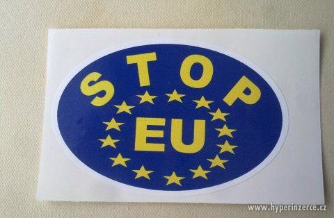 SAMOLEPKA STOP EU - foto 1
