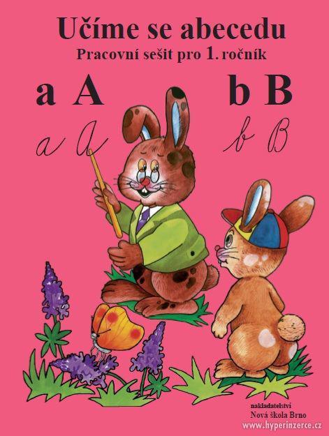 Učíme se abecedu – pracovní sešit – soubor karet