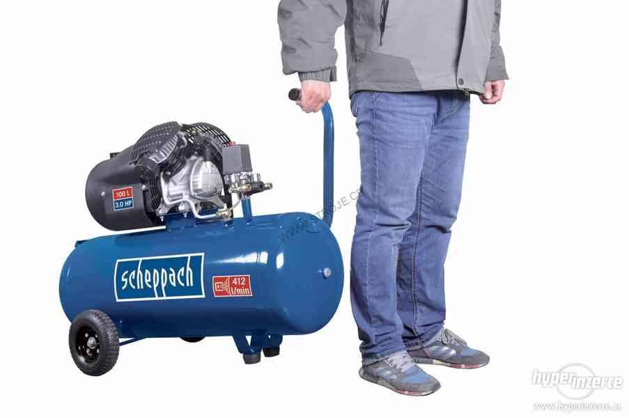 Scheppach HC 100 dc olejový kompresor - foto 2