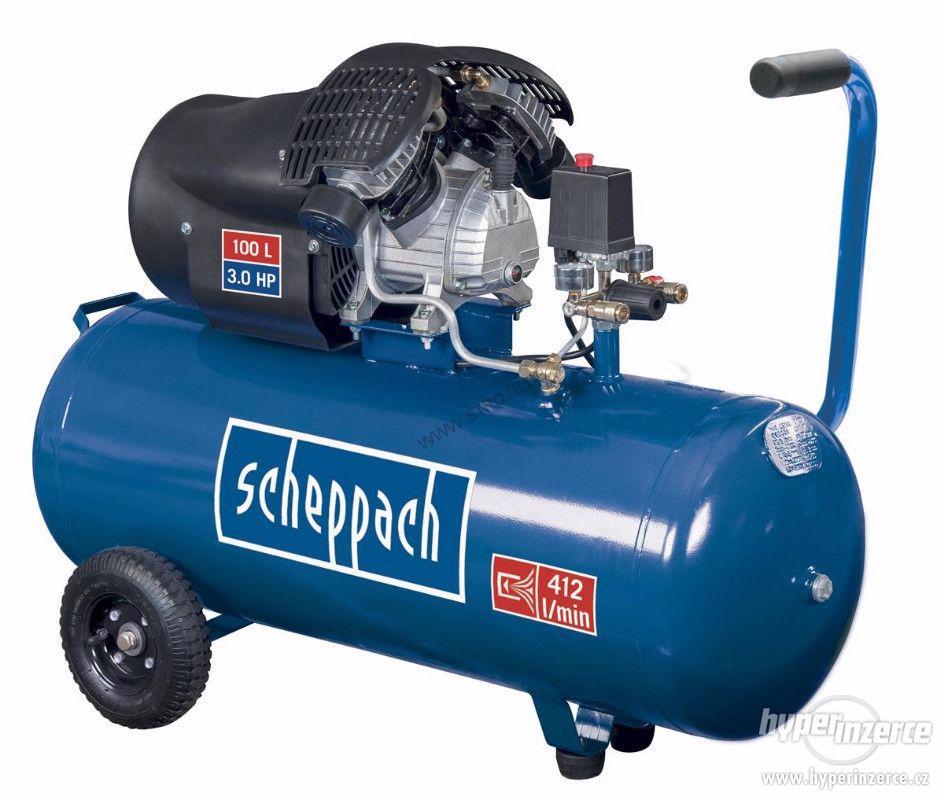 Scheppach HC 100 dc olejový kompresor - foto 1