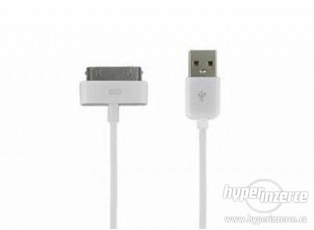 Datový kabel 30pin iPhone 4/4s - foto 3