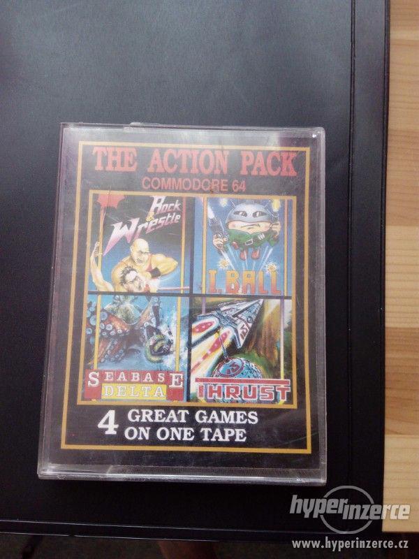 Prodám čtyři hry na Comodore 64