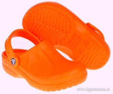 Original! CROCSy -oranžové, vel. 35 - úplně nové!! - foto 1