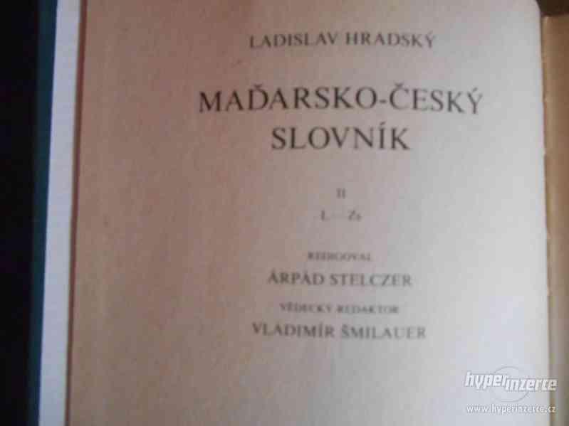 Dvoudílný maďarsko-český slovník - foto 2