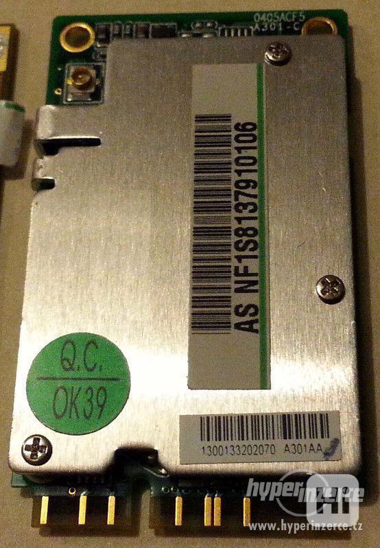 MINI PCI TV karta AverMedia, miniPCI a pcmcia WiFi do NTB - foto 1