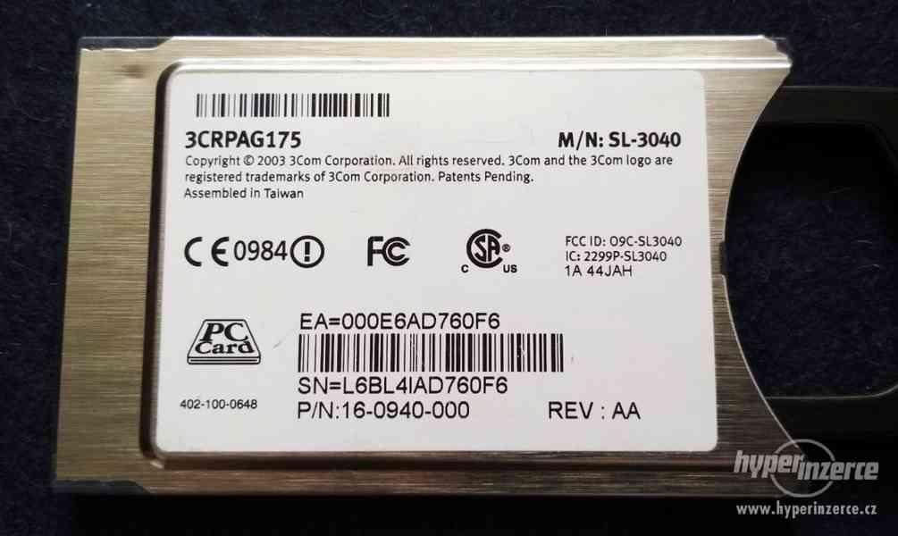 MINI PCI TV karta AverMedia, miniPCI a pcmcia WiFi do NTB - foto 5