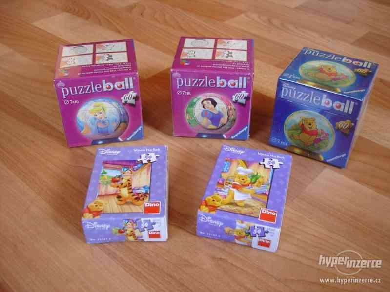 puzzle ball a mini NOVÉ
