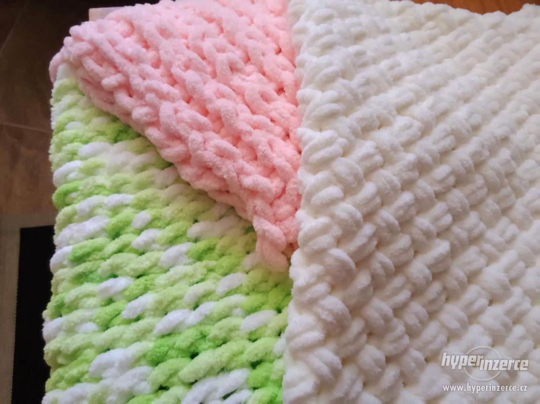 Plyšové deky - foto 1
