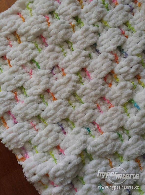Plyšové deky - foto 5