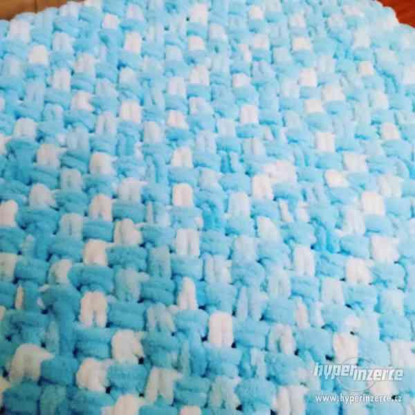 Plyšové deky - foto 4