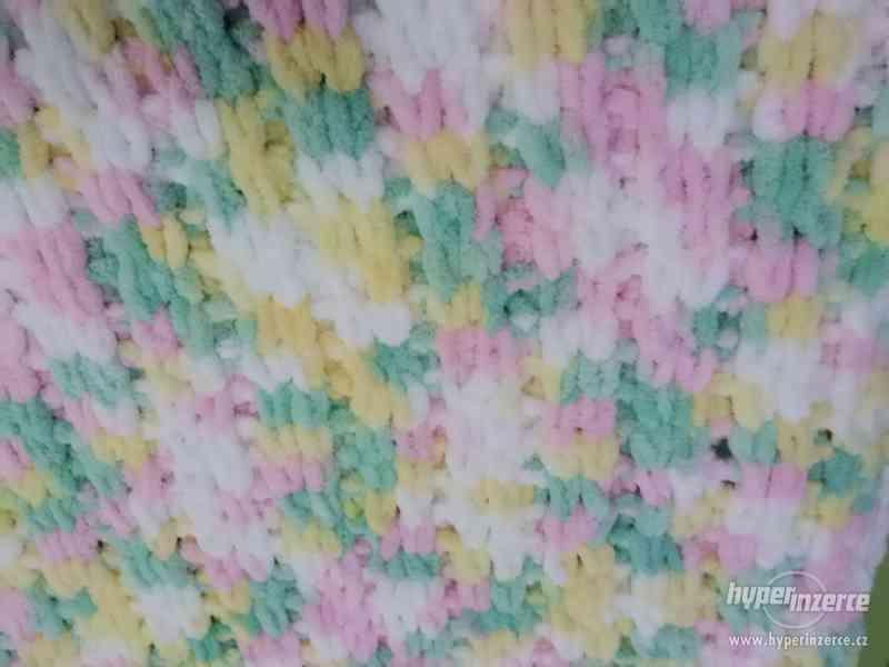 Plyšové deky - foto 7