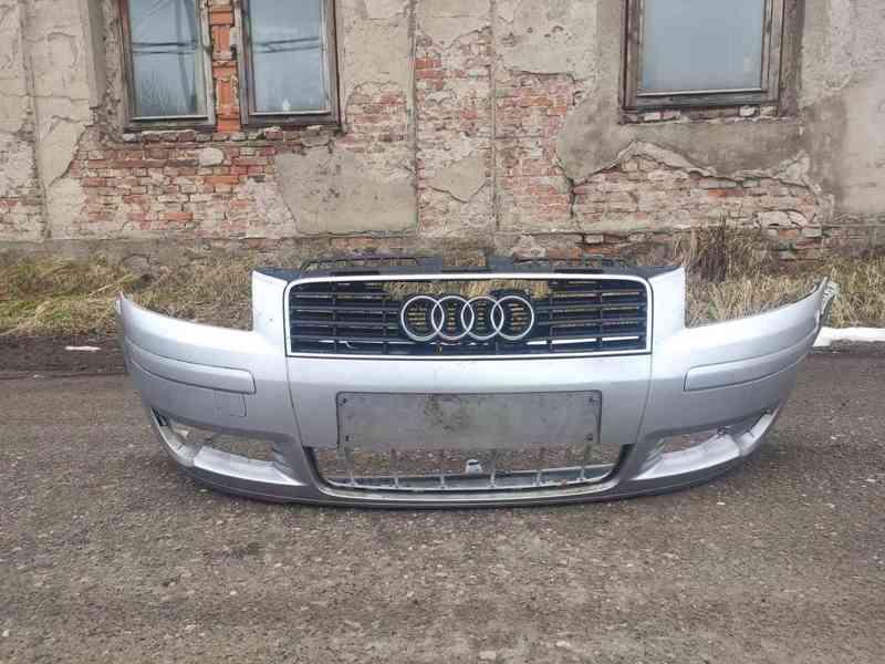 Přední nárazník Audi A3 8P 2003-2005 stříbrný