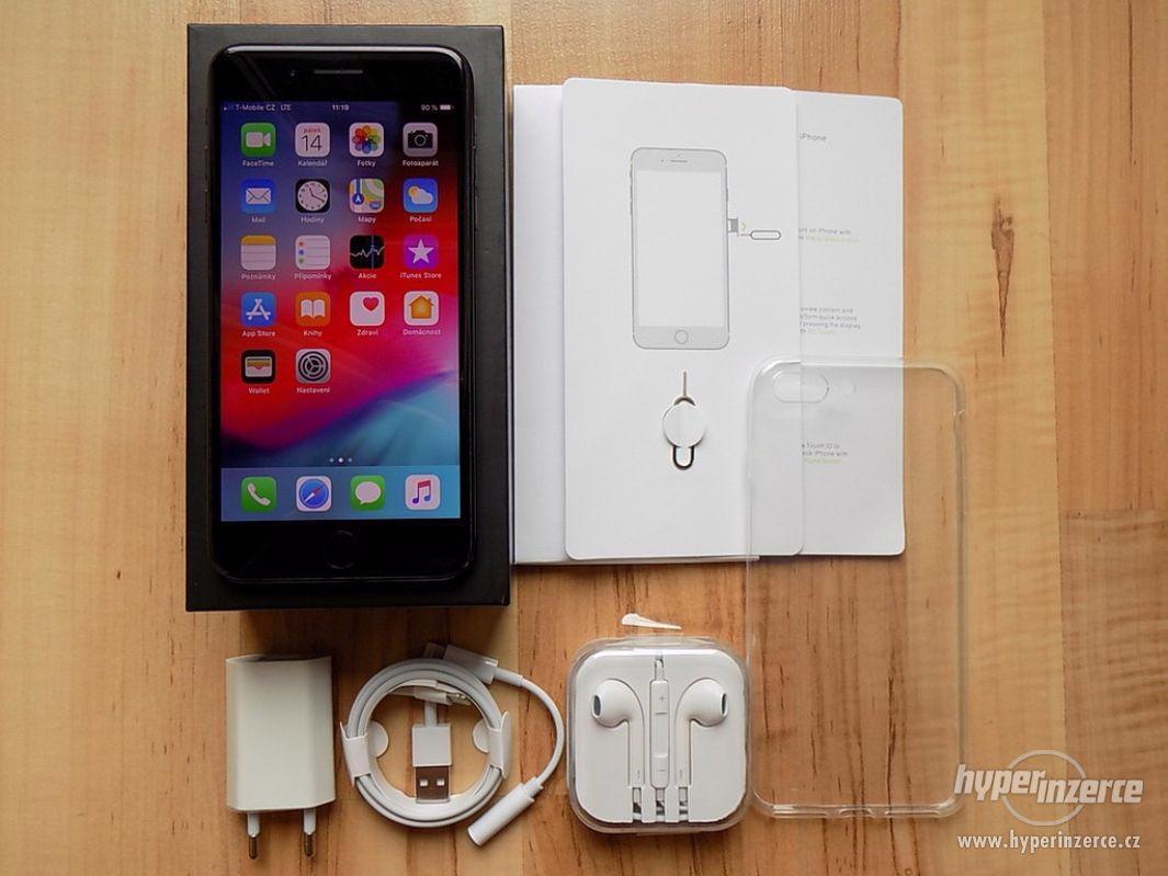 APPLE iPhone 7 PLUS 32GB Jet Black - ZÁRUKA - SUPER STAV - foto 1