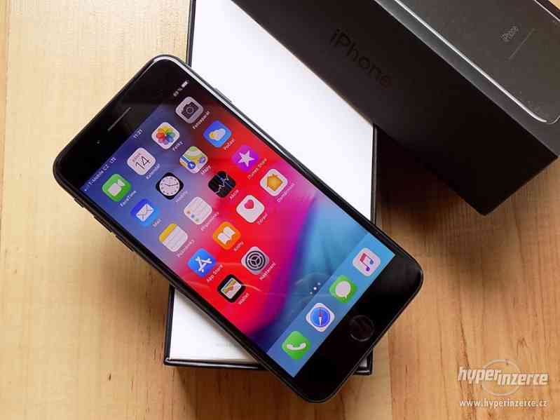 APPLE iPhone 7 PLUS 32GB Jet Black - ZÁRUKA - SUPER STAV - foto 3