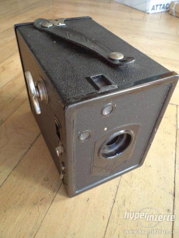 Historický Fotoaparát AGFA box 44 - foto 1