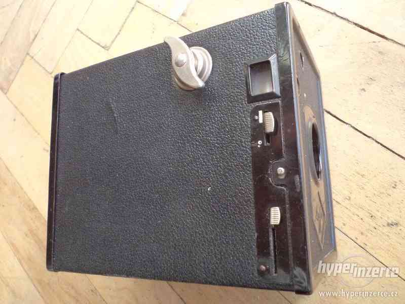 Historický Fotoaparát AGFA box 44 - foto 4