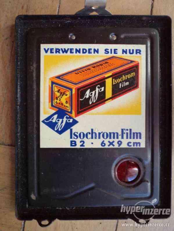 Historický Fotoaparát AGFA box 44 - foto 5
