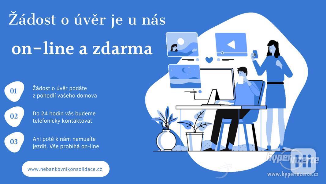 Zažádejte o úvěr on-line a zdarma!