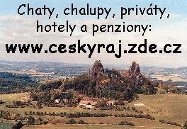Chaty, chalupy v Českém ráji a okolí