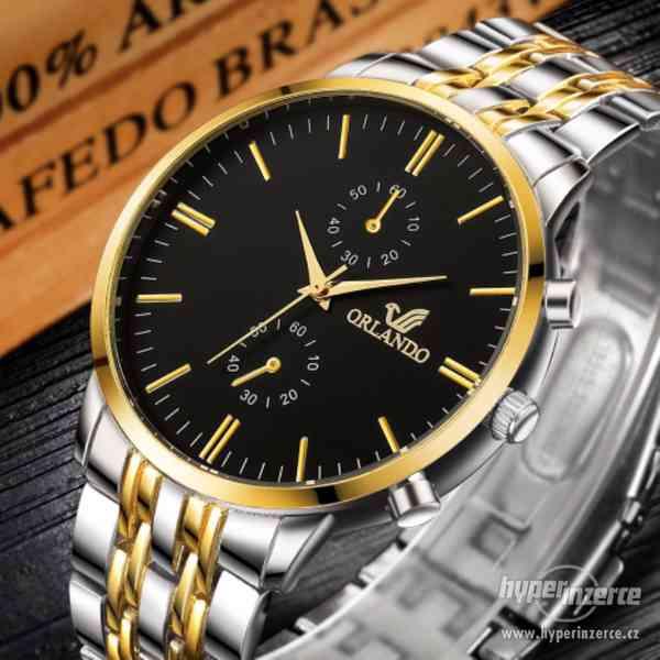 Luxusní pánské hodinky (NOVÉ)