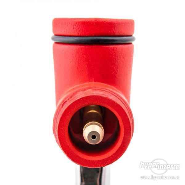 Stříkací pistole na omítky s hliníkovým trychtýřem + 3 trysk - foto 6