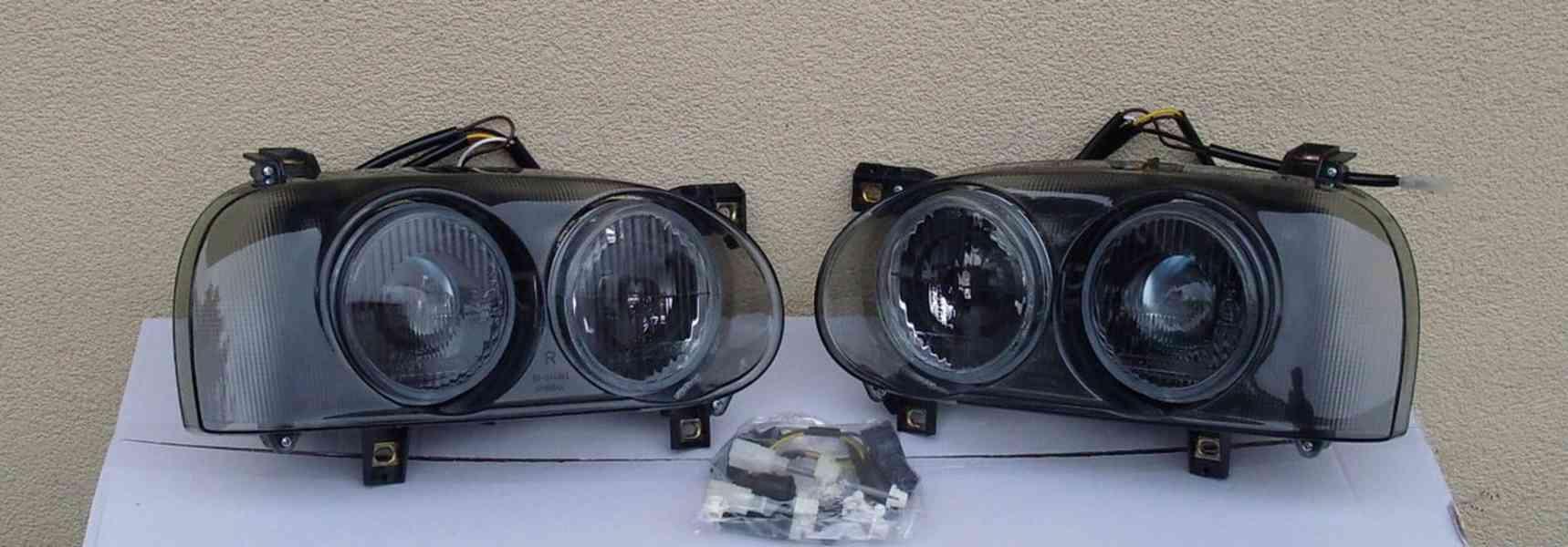 VW Golf 3 přední světla-Projektor. - foto 1