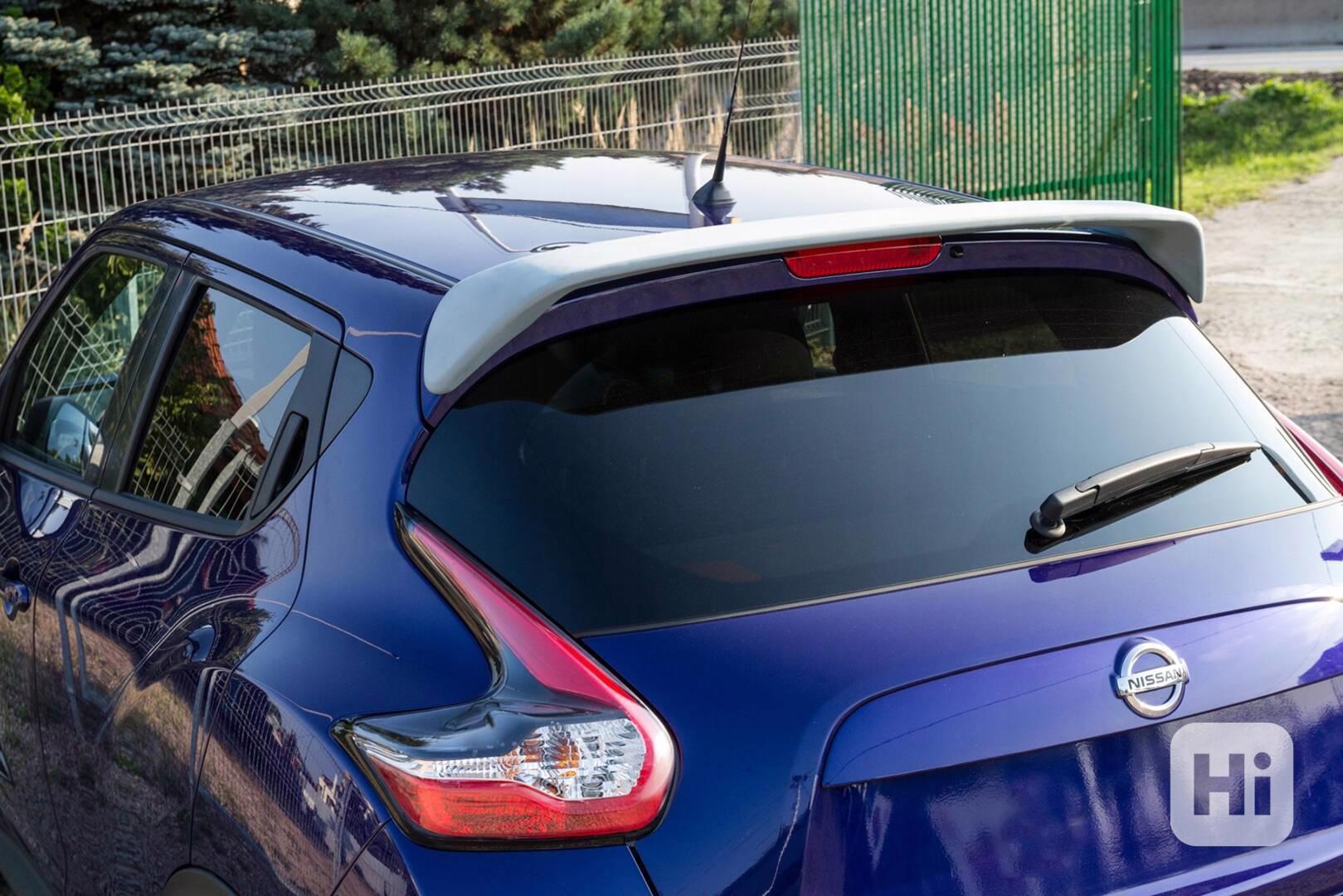 Nissan juke spoiler kridlo tuning stresni - foto 1