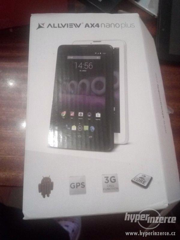 Tablet Ax4 Allveiv Nano plus - foto 3