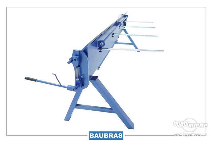Klempířská ohybacka plechu 3 / 1,0  BAUBRAS OHYBACKY PLECHU - foto 10