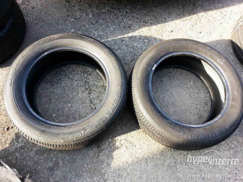 2ks letních pneu Dunlop SP Sport, 215/65R17, 7mm