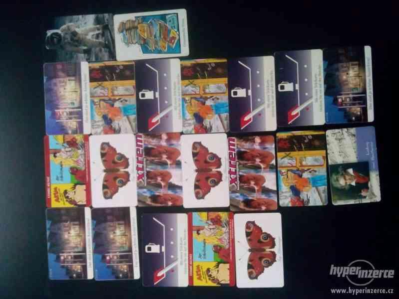 Telefonní karty Česká republika a Německo - foto 2
