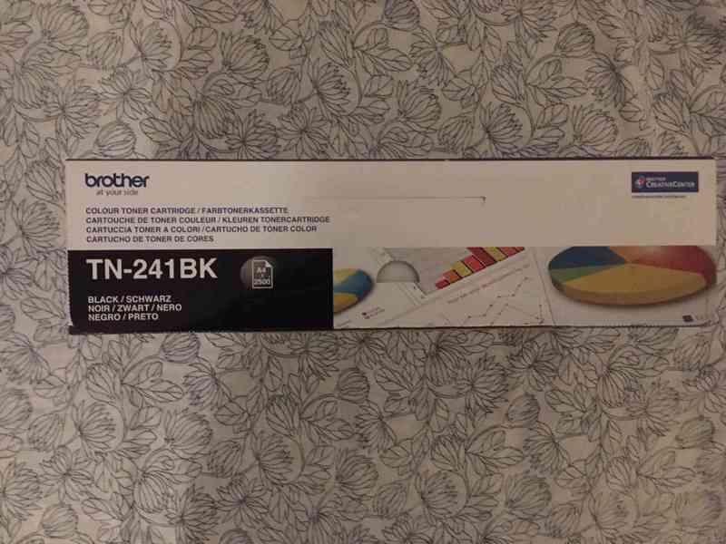 originální toner Brother TN-241BK černý  - foto 2