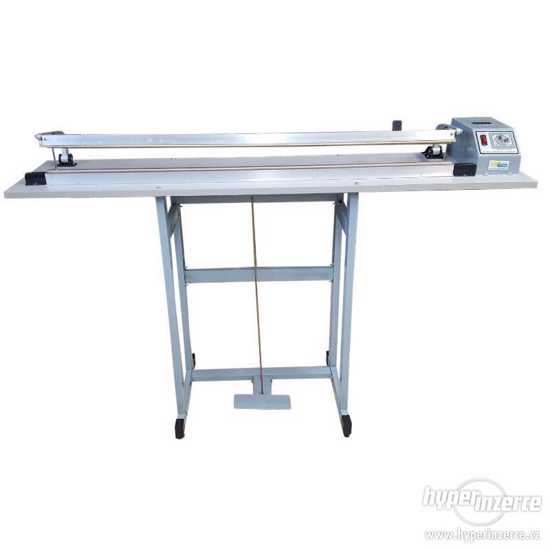 Svářečky folií hliníková s nožem, svar 1000x2 mm - foto 1