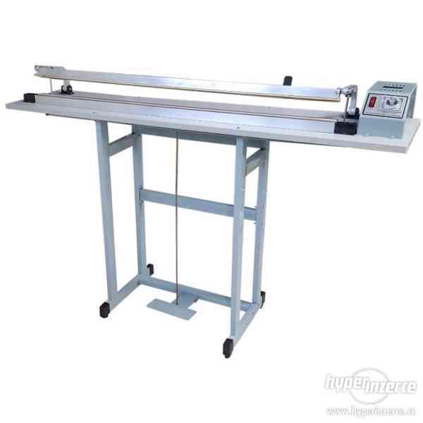Svářečky folií hliníková s nožem, svar 1000x2 mm - foto 2