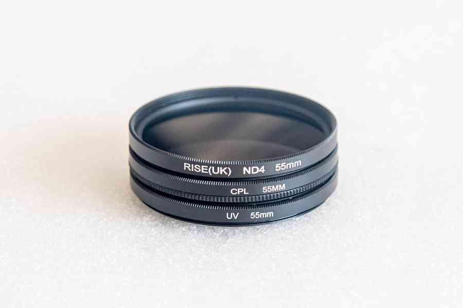 UV+CPL+ND4  pr. 55 mm