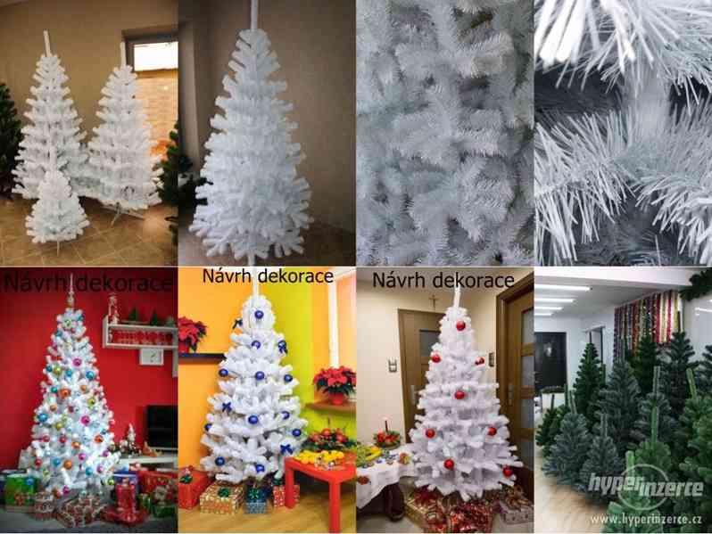 Uměle vánoční stromky 180 cm- akce!!!