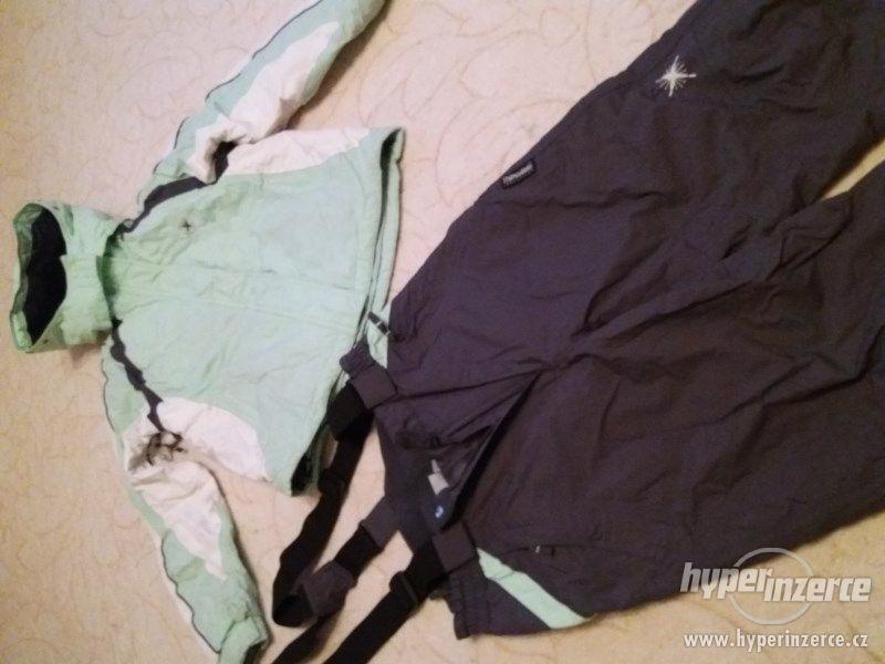 Lyžařká bunda a kalhoty vel. 152