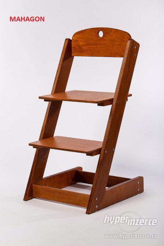 Rostoucí židle ALFA III - různá barevná kombinace - foto 1